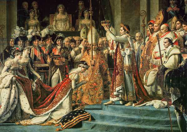 Niesamowite Jacques-Louis David: Consecration of the Emperor Napoleon (1769 ST68
